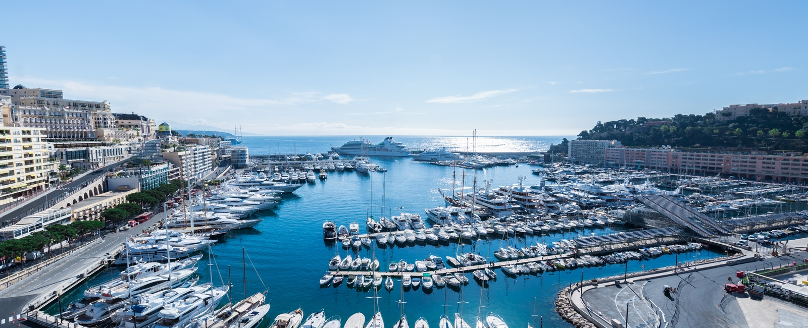 La Costa Properties Monaco : RARE - Elegant Penthouse Apartment on the Port